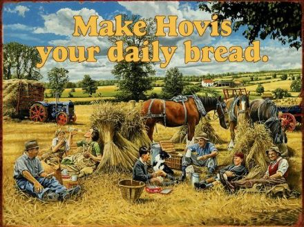 Make Hovis your Daily Bread - Metal Wall Sign (2 sizes)